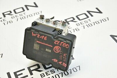 MERCEDES S CL 500 W221 W216 388ps Hydraulikblock ABS ESP Steuergerät A2215458732