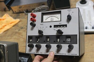 Fluke 871a  Differential Voltmeter
