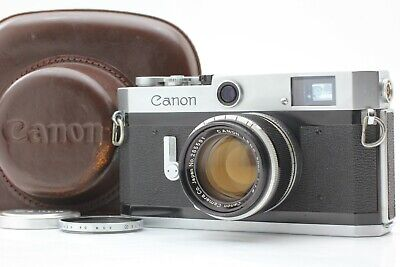 【Exc+++++】 Canon P Rangefinder Film Camera + 50mm f/1.8 Lens From Japan #1752