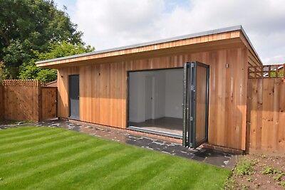 Garden Room, Garden Office, Garden Studio - Drawings - to your Own Design