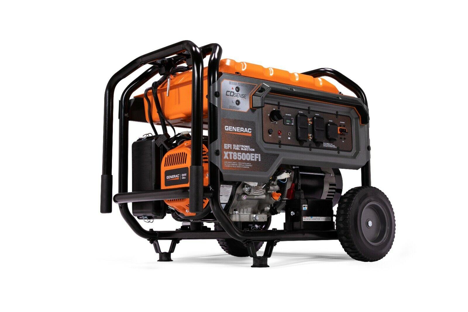 Generac 7247 - XT8500EFI Portable Generator w/ COsense