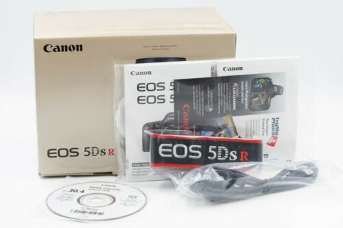 Canon EOS 5Ds R Retail Box Manual Strap