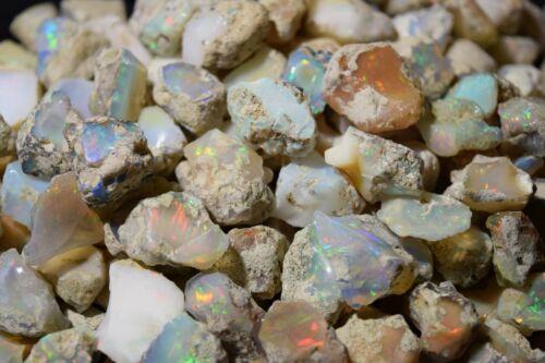 Natural Ethiopian Welo Opal Rough Bulk 10-30ct Large $1.80+/Gram US SELLER +GIFT