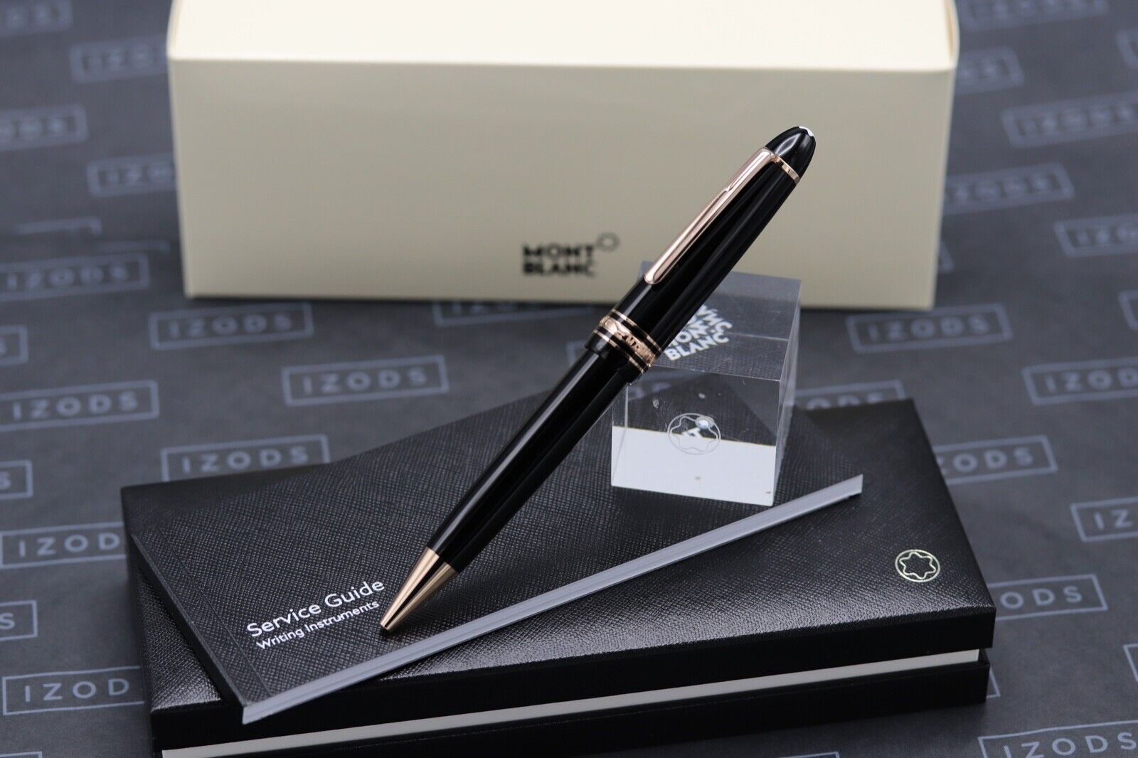 Montblanc Meisterstuck 161 LeGrand Red Gold Ballpoint Pen - NEW March 2021