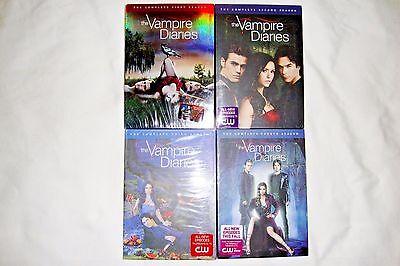 Used, The Vampire Diaries Seasons 1-4, 1 2 3 4, DVD, Nina Dobrev, New/Sealed/Slipcover for sale  Shipping to Canada
