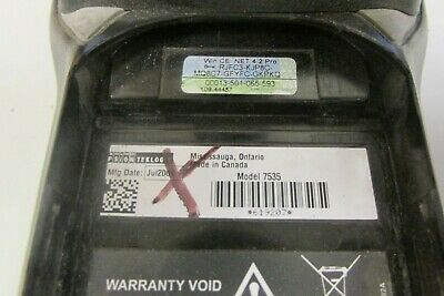 Lot Of 5 Psion Teklogix 7535 Mobile Computerbarcode Scanner