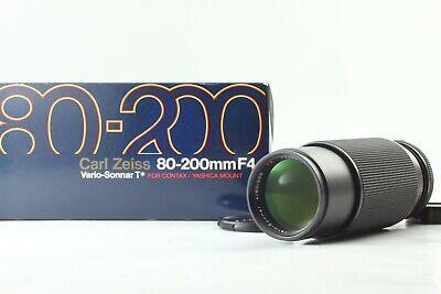 [N Mint in Box] CONTAX Vario-Sonnar 80-200mm f4 MMJ Carl Zeiss T* Lens Japan a44