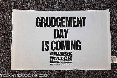 GRUDGE MATCH - Movie PROMO Towel - GRUDGEMENT DAY IS COMING - Stallone De Niro