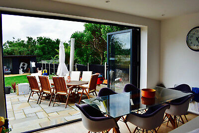 Aluminium Bi-folding Doors - Rhino Aluminium - Direct from the manufacturer!