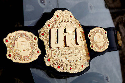 Used, UFC Championship Belt Ultimate Fighting Replica Belt Adult 4mm christmas gift for sale  Shipping to Canada