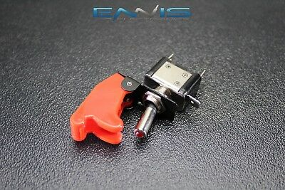 Toggle Switch On Off Rocker Red Led 12v 20 Amp Race Nitrous Eps-3015rd