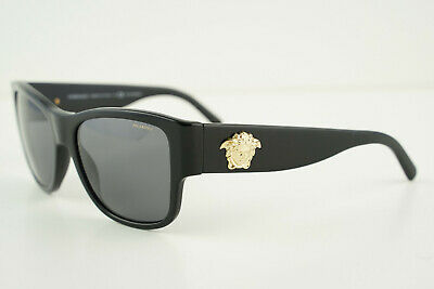 VERSACE Mod. 4275 GB1/81 Polished Black/Gold 58-18-140 3P Polarized Sunglasses