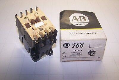 New Allen Bradley Type F Control Relay Ser B 24 Volt Coil 600 Vac 700-f310a24