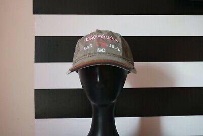 Triangle Sport Headwear Baseball Cap Adjustable Charleston 1670 SC Khaki (Charleston Headwear)