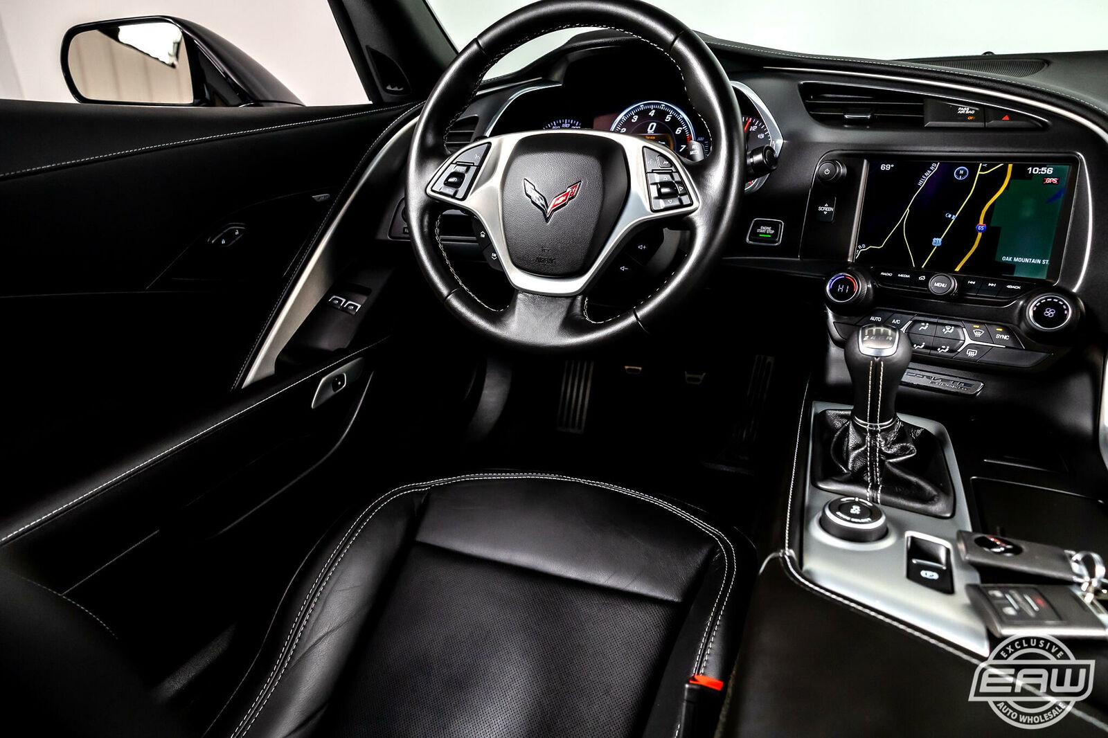 2014 Black Chevrolet Corvette Coupe 1LT | C7 Corvette Photo 7