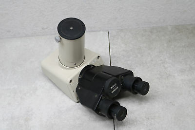 Nikon Binocular Microscope Attachment Head Hwf20x 20x Optical