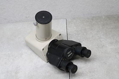 Nikon Binocular Microscope Attachment Head Hwf20x 20x Optical