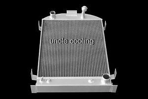 NEW 3 ROW ALL ALUMINUM RADIATOR 1930 1931 FORD MODEL A CHEVY V8 UPGRADE