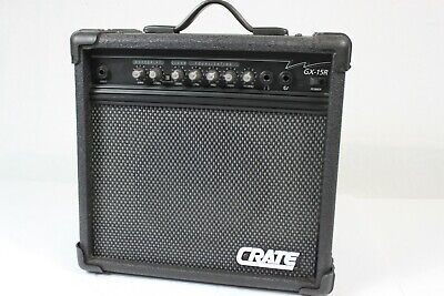 Crate GX-15R Electric Guitar 15W Practice Amp with Reverb.  #R6294