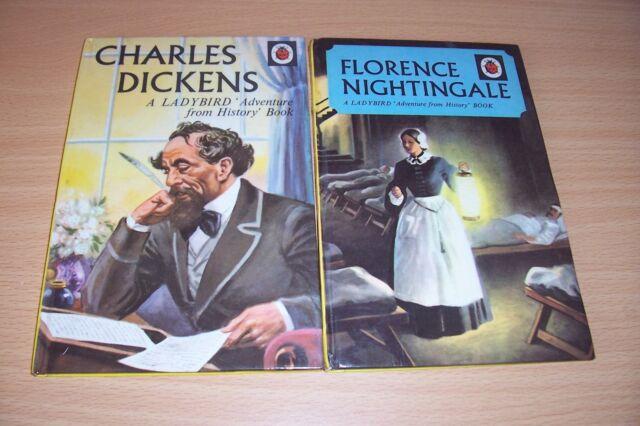 Charles Dickens by L.Du Garde Peach (Hardback, 1965)/FLORENCE NIGHTINGALE