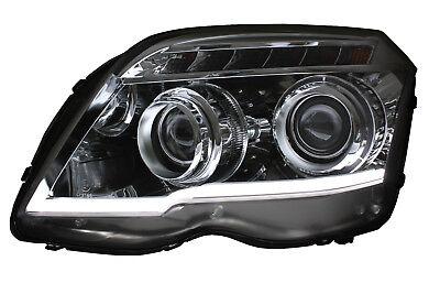 Sky Wing Scheinwerfer Set für Mercedes X204 GLK 9/08-6/12 mit LED-Blinker