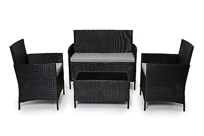 Evre Rattan Outdoor Garden Madrid Furniture Set Conservatory Patio Lounge