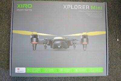 Xiro Xplorer Mini Idea, Black Quadcopter Drone with HD Video Camera UM2210