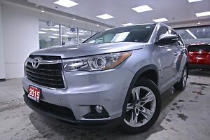 2015 Toyota Highlander LIMITED, AWD, NAV, BLIND SPOT, BACK UP CA