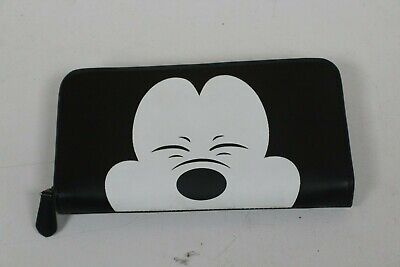 COACH x DISNEY 75th Squinting Mickey Mouse Accordion Zip Wallet F54000 Ltd Ed