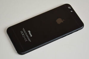iphone 6 alu mittelrahmen schwarz matt rahmen geh use frame r ckseite backcover ebay. Black Bedroom Furniture Sets. Home Design Ideas