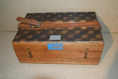 Jm Brunson Instrument Corp Model 381 Storage Box B1
