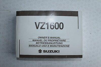 Suzuki VZ1600 K4 2004 Used OEM Owners Use & Maintenance Manual 99011-11AB0-01R