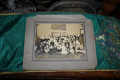 Antique Hospital Photograph-Group Masons Shriners Nurses-Costumes-Large-1918](Large Group Costumes)