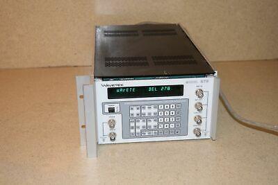 Wavetek Model 278 Programmable Synthesized Function Generator