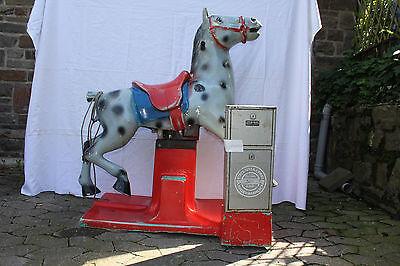Schaukelautomat, Kiddy Ride, Pferd, Made in West Germany -  Rarität
