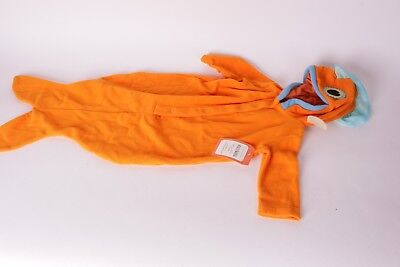 NWT Pottery Barn Kids Baby Goldfish fish Dr. Seuss costume 6-12 month Halloween - Dr Seuss Goldfish Costume