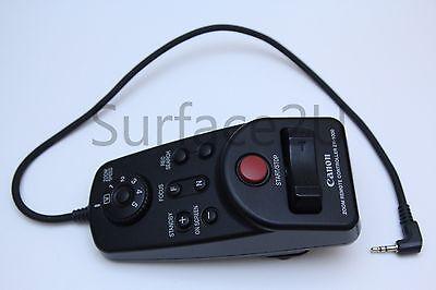 Canon ZR-1000 Zoom Remote Controller for Camcorders Control-L Lanc Excellent Con