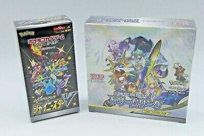 1 BOX EACH Pokemon Card Shiny Star V & Dream League Japanese NEW DHL from Japan