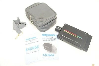 Exergen Microscanner E Autozero Electrical Inspection Heat Scanner Wmanual Case