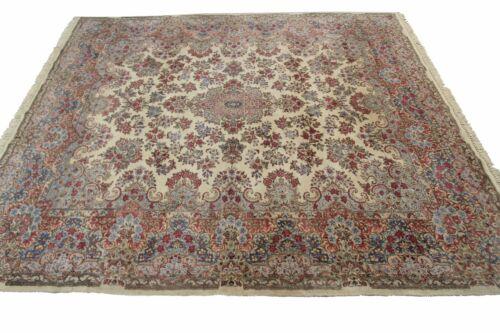 8'x10' Handmade Antique Rug 1940s Fine Persian Lavar Kerman Superb Condition