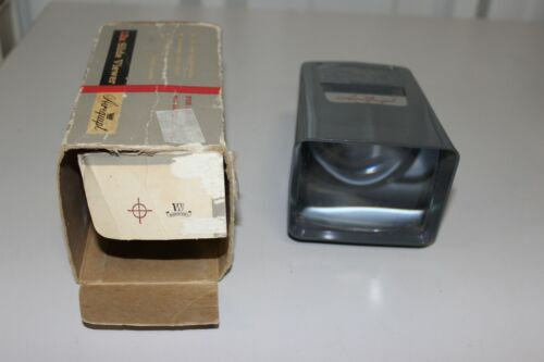 Vintage Airequipt Slide Viewer 12X With Box And Stand