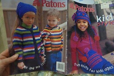 Шаблоны Paton's Knitting Book 938 Kid