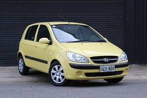 2010 Hyundai Getz SX Automatic Hatchback Mile End South West Torrens Area Preview