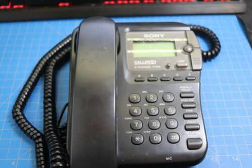 Sony IT-ID80 Caller ID Telephone Black