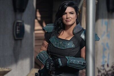 The Mandalorian Season 2 Poster 11x17 Gina Carano DISNEY STAR WARS CARA DUNNE