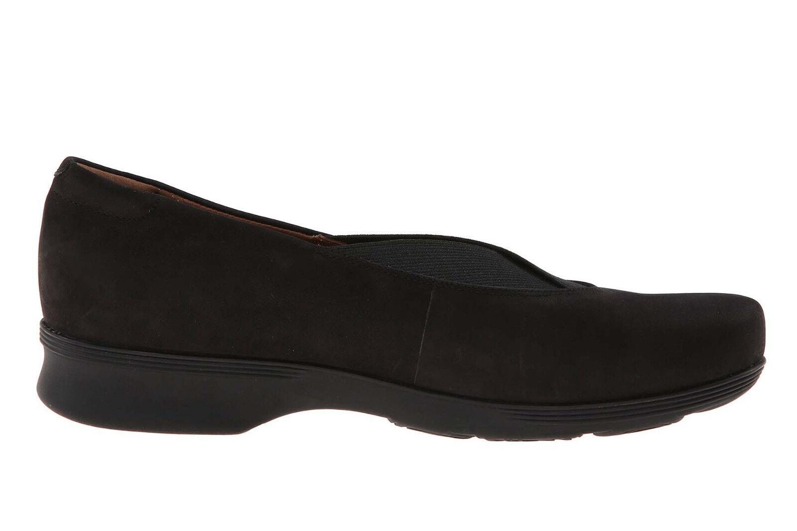 New Clarks AURBIA FAY Nubuck Women Shoes Sz 8 (MSRP $130)