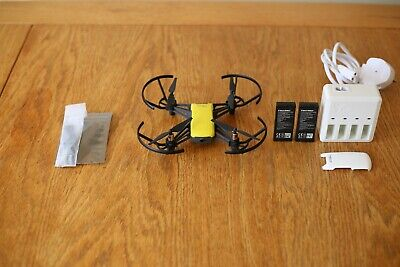 DJI RYZE TELLO Drone 720p HD 5MP Boost Combo With 2 Batteries & Charger Hub