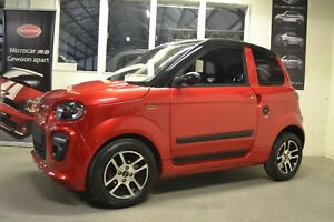 Microcar M.Go DCI RED 2020 Mopedauto Leichtmobile 45 KM