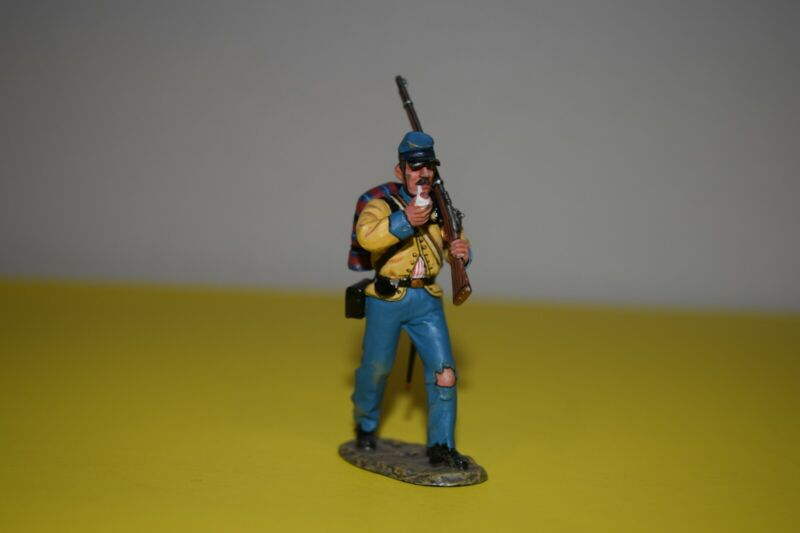 King and Country 54mm toy soldier civil war confederate soldier see description