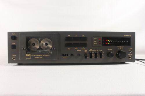 NAD 6150 C, vintage cassette deck, serviced. (ref D 663)